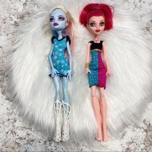 Monster High Dolls GiGi Grant Abbey Bominable